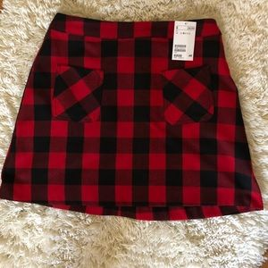 Plaid Skirt!